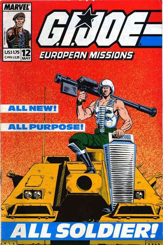 G.I. Joe European Missions #12 VF/NM ; Marvel comic book