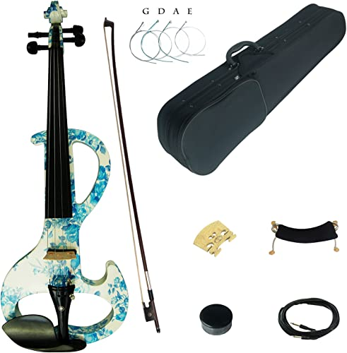 Kinglos Dsza1201 Solid Wood Intermediate-A Electric/Silent Violin Kit