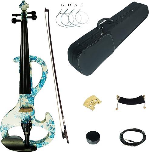 Kinglos Dsza1201 Solid Wood Intermediate-A Electric/Silent Violin Kit