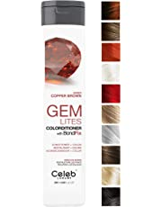 Celeb Luxury Gem Lites Colorditioner: Hair Color Depositing Conditioner, BondFix Bond Rebuilder, Eliminates Unwanted Yellow, Better than Purple Shampoo, Cruelty-Free, 100% Vegan