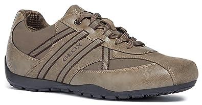 Geox - Geox Ravex Zapatos Deportivos Hombre Azul: Geox: Amazon.es: Zapatos y complementos