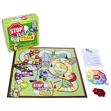 amazon com stop relax think a game to help impulsive children
