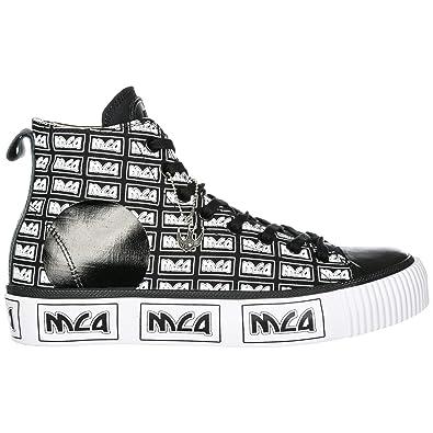 MCQ Alexander McQueen Sneakers Alte Plimsoll Uomo Black
