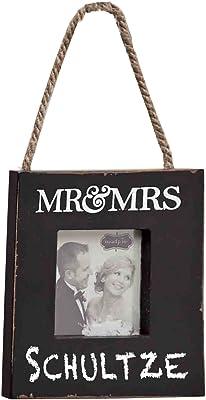 Mud Pie Mr. and Mrs. Door Hanger Frame