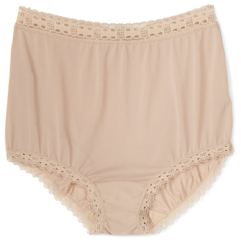e1e6fbc8f919 Olga Christina Women's Full Brief Panty #63873 at Amazon Women's Clothing  store: Briefs Underwear