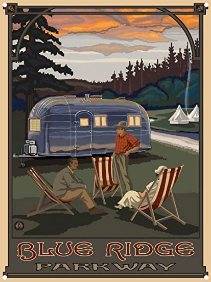 11-Inch by 17-Inch Northwest Art Mall Oregon Airstream Trailer Unframed Prints by Paul A Lanquist