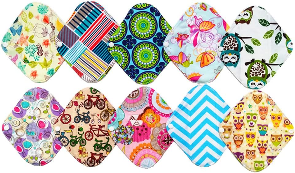 Cloth Panty liners Set of 3 Ready to ship