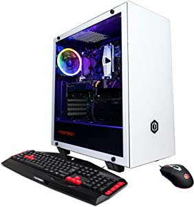 CYBERPOWERPC Gamer Xtreme VR Gaming PC, Intel i7-9700 3.0GHz, GeForce RTX 2060 Super 8GB, 16GB DDR4, 1TB PCI-E NVMe SSD, WiFi & Win 10 Home (GXiVR8540A3)