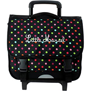 Cartable scolaire à roulettes Little Marcel