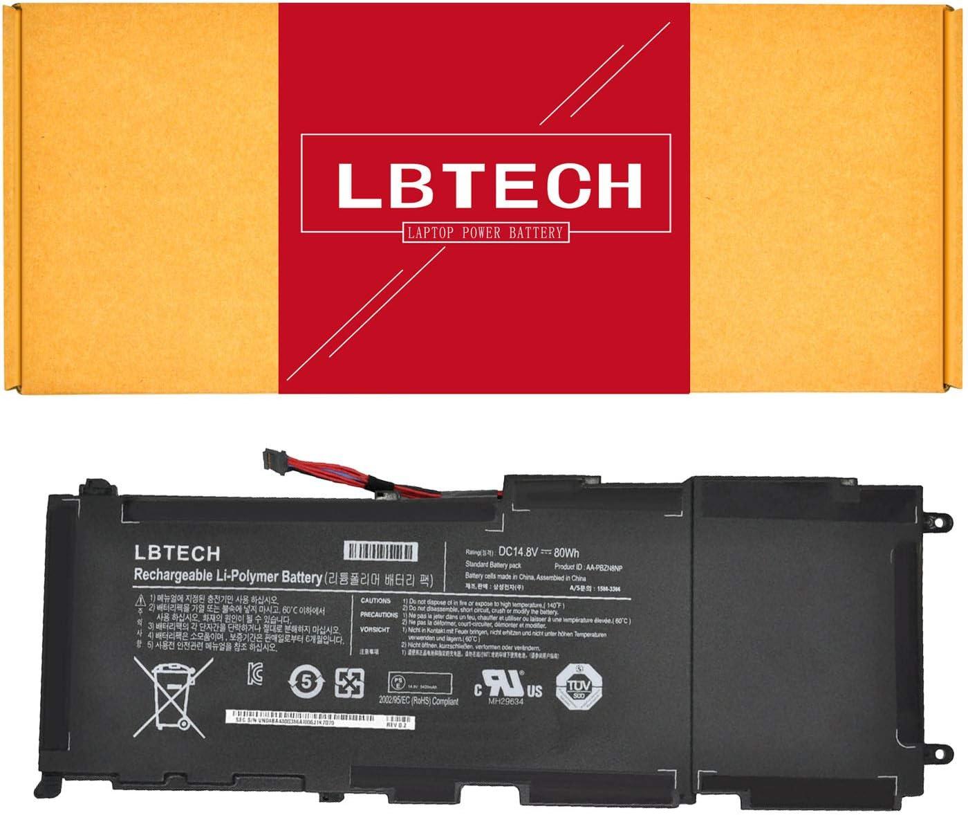 LBTECH Compatible AA-PBZN8NP Laptop Battery Replacement for Samsung 7 Np-700 Np700z7c NP700Z5A Np700z5b 700z Series 14.8V 80Wh