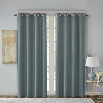 Light Blue Curtains Living Room.Blue Curtains For Living Room Modern Contemporary Light Room Darkening Curtains For Bedroom Emmer Solid Grommet Window Curtains 50x63 1 Panel