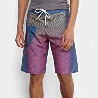 Bermuda Oakley Faded Stripes Boardshorts Masculina
