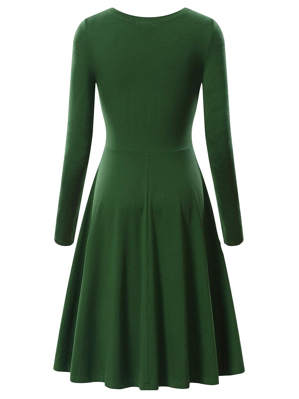 Long Flared Dress