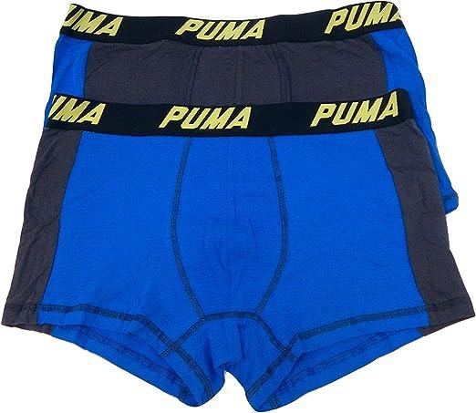 Pack of 2 PUMA Mens Luxury Flag Soft Cotton Sport Underwear Boxer Shorts