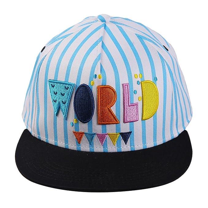 Gorras Planas Damas Chicas Algodón Brillantehombrete Animado Sombrero Del Verano, Multicolor B: Amazon.es: Ropa y accesorios