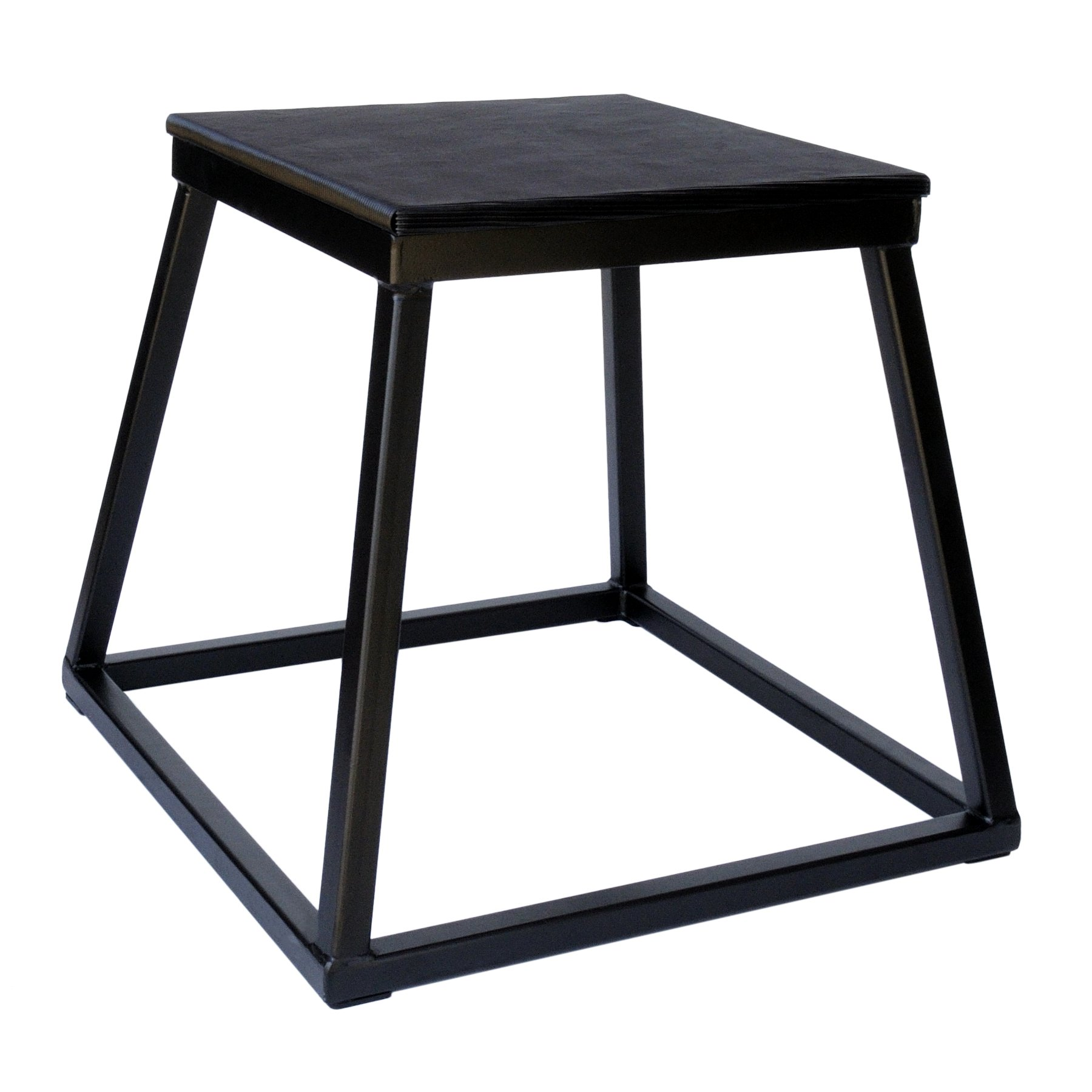 Ader Plyometric Platform Box- 18'' Black