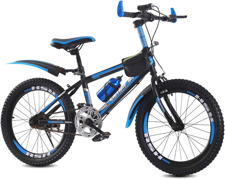 GZMUK Bicicleta Infantil,Adulto Bici De Montaña 20,22,24 Pulgadas,Acero De Alto Carbono Mountainbike Apto para Niños Y Adultos Mayores De 10 Años