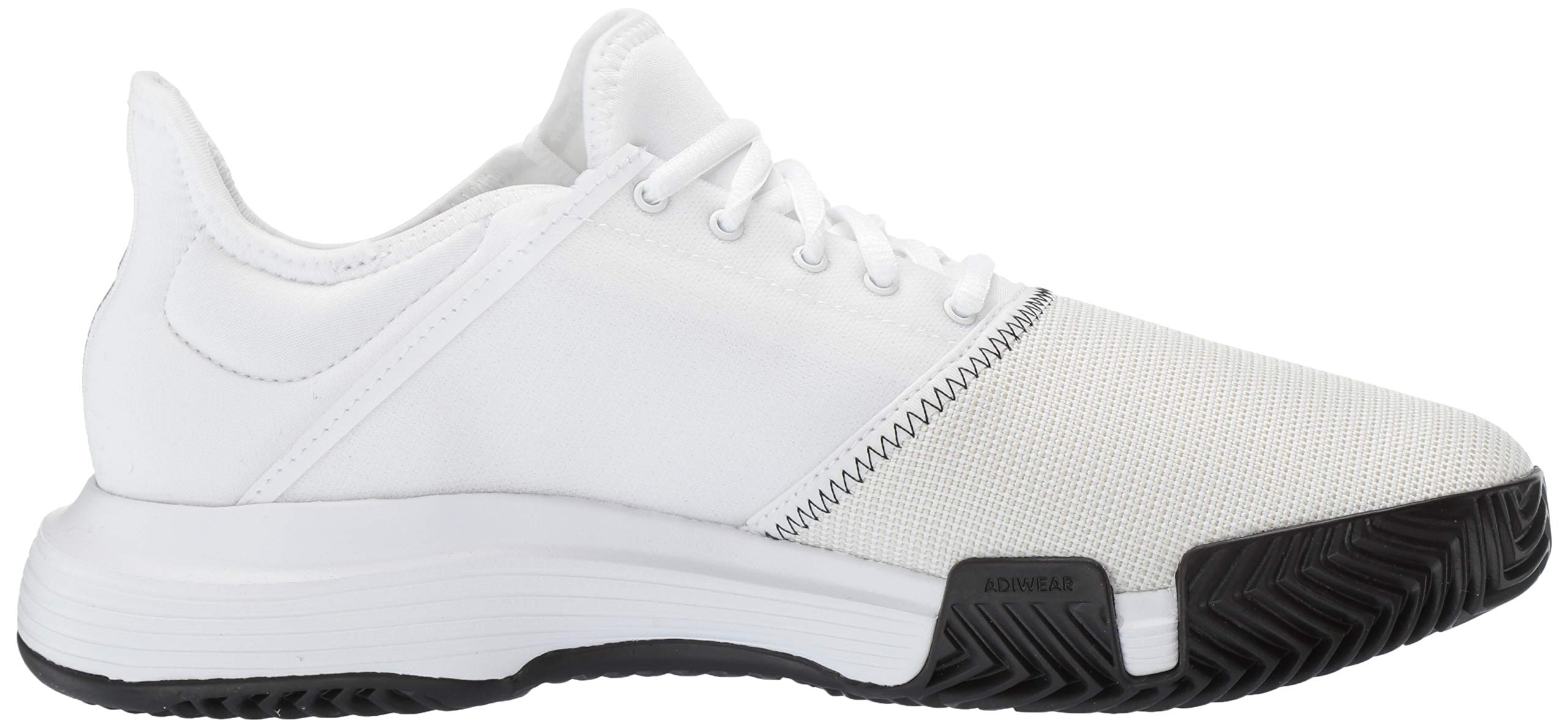adidas Men's Gamecourt, White/Black/Grey 6.5 M US by adidas (Image #7)