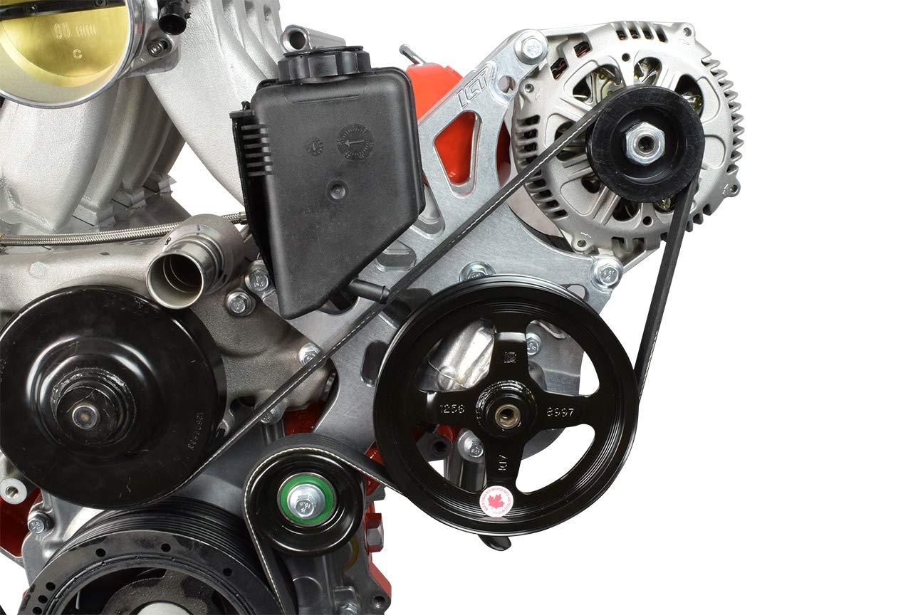 Corvette LS Alternador & Power Kit de accesorios de volante para bomba Turbo LS1 551521 - 1: Amazon.es: Coche y moto