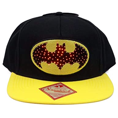 DC Comics Gorra Snapback Cap Batman con Logotipo Light Up Up ...
