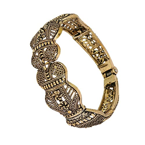 Jewelry & Watches Engagement & Wedding New Fashion Ethnic Indian Traditional Goldtone Beautiful Adjustable Ring Women Party Jewelry Moderate Cost