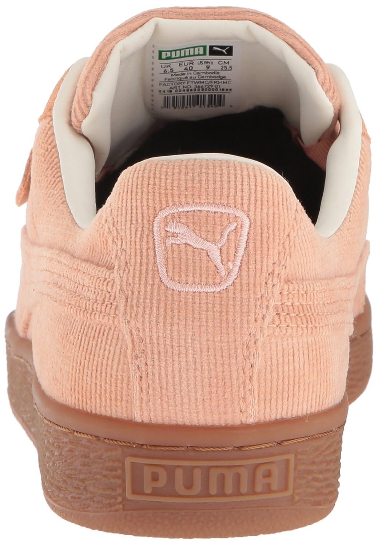 PUMA Women's Basket Heart Corduroy Sneaker B0784VNS8H 9 M US|Dusty Coral-dusty Coral