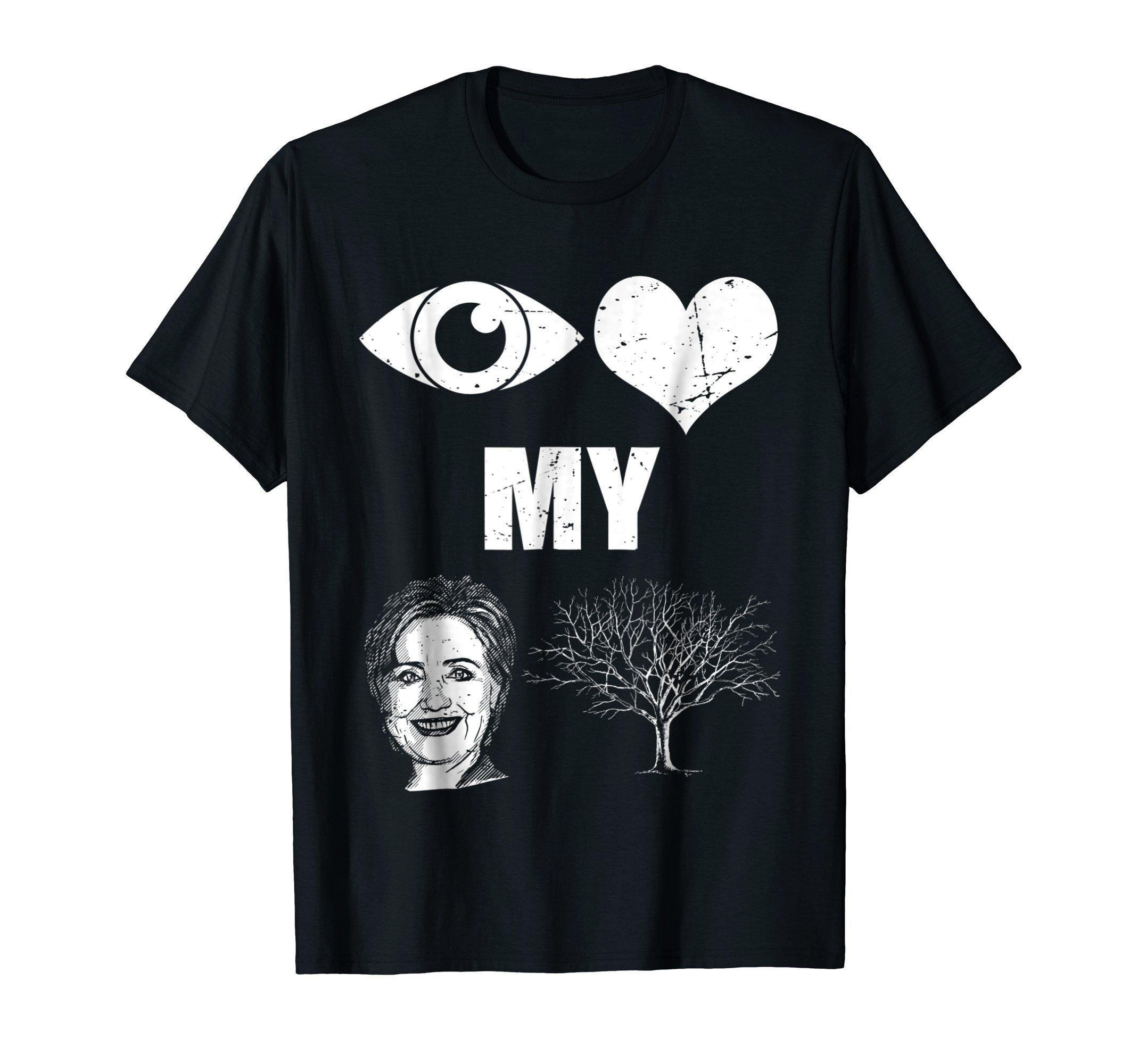 I Love My Country Hillary Clinton Funny Shirt