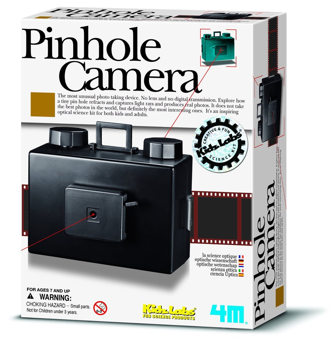 4M Pinhole Camera Kit by 4M