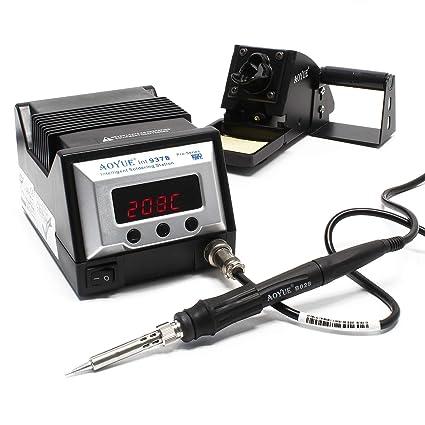 AOYUE Int9378 PRO Series estación soldadura inteligente multi-herramienta cautín lápiz pinzas soldar