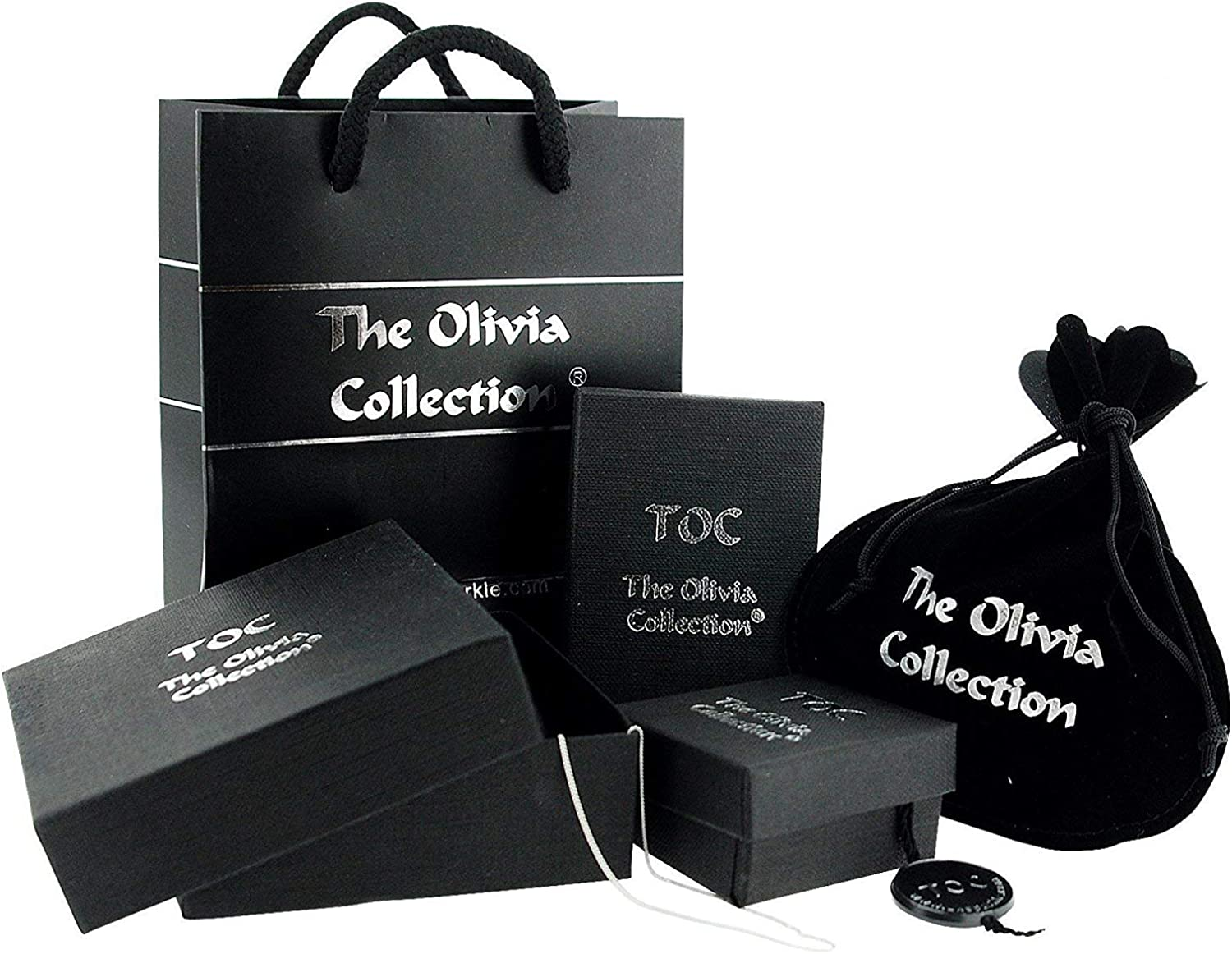 The Olivia Collection TOC Sterling Silver Oval Shaped Amber Cross Pendant on 18 Inch Chain