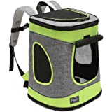 "Petsfit Comfort Dogs Carriers/Backpack,Hold Pets up to 15 LBS,Go for Walk, Hiking and Cycling 17"" H x13 L x11 D"