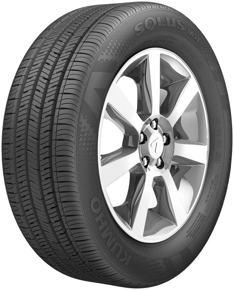 Kumho 2172033 Solus TA31 Touring Radial Tire - 185/55R15 82H