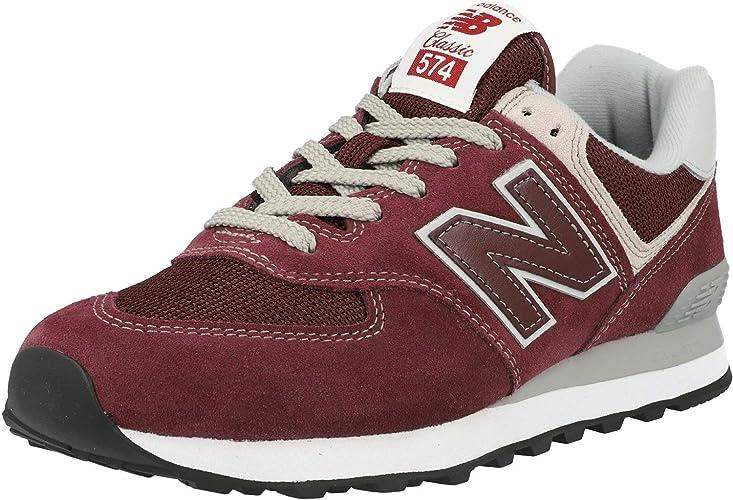 New Balance Herren 574 Core Sneaker, Marineblau, 40 2/3 EU