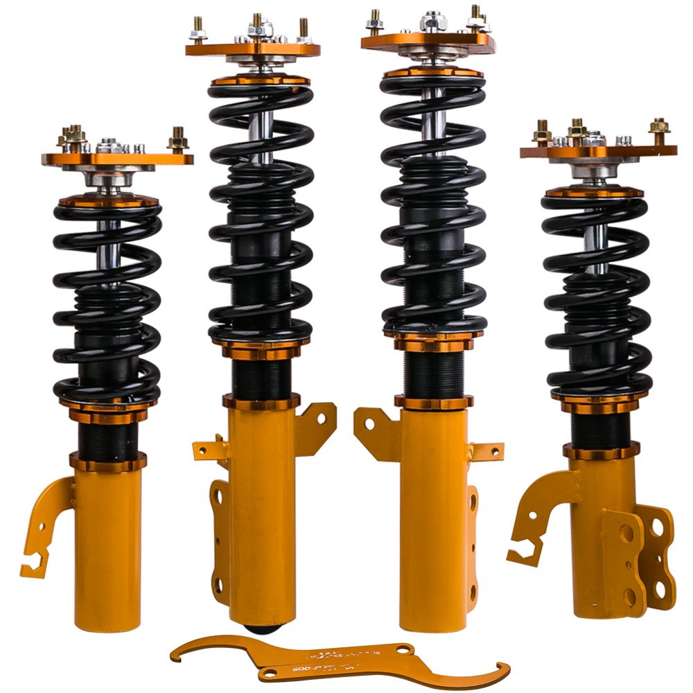 Front /& Rear Coilovers Springs For Toyota Celica FWD 90 91 92 93 Shocks Struts Adj Height