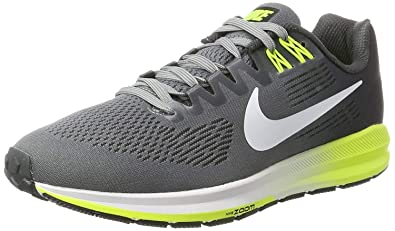 new arrival 00984 01900 Nike Men s Zoom Structure 21 Running Shoes-Cool Grey White Antracite-9.5