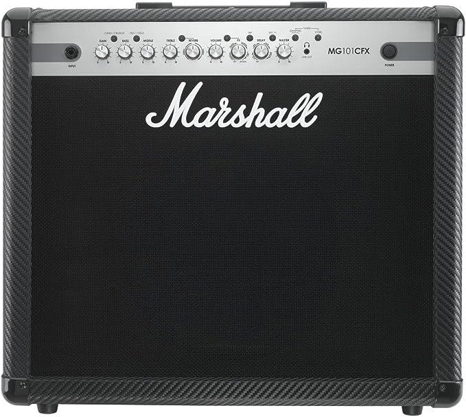 Marshall MG101CFX - Amplificador combo 100 w efectos mma: Amazon.es: Instrumentos musicales