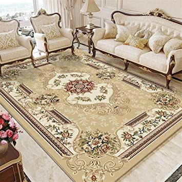 Amazon Com Pnygjp European Style Living Room Coffee Table Blanket Sofa Luxury Carpet Bedroom Bedside Mat Room American Style Home Thickening Mat Customizable Size Color E Size 160230cm Furniture Decor