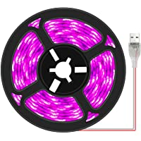 Plant Grow Light Strip 2835 SMD IP66 Waterproof Full Spectrum Growing Lamp Plant Grow LED Light for Indoor Plants…