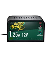 Battery Tender Plus 021-0128, 1.25 Amp Battery Charger is a Smart Charger, it will Fully Charge and Maintain a Battery at Proper Storage Voltage without the Damaging Effects Caused by Trickle Chargers