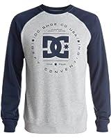 DC Rebuilt Crew Raglan Sweatshirt Mens