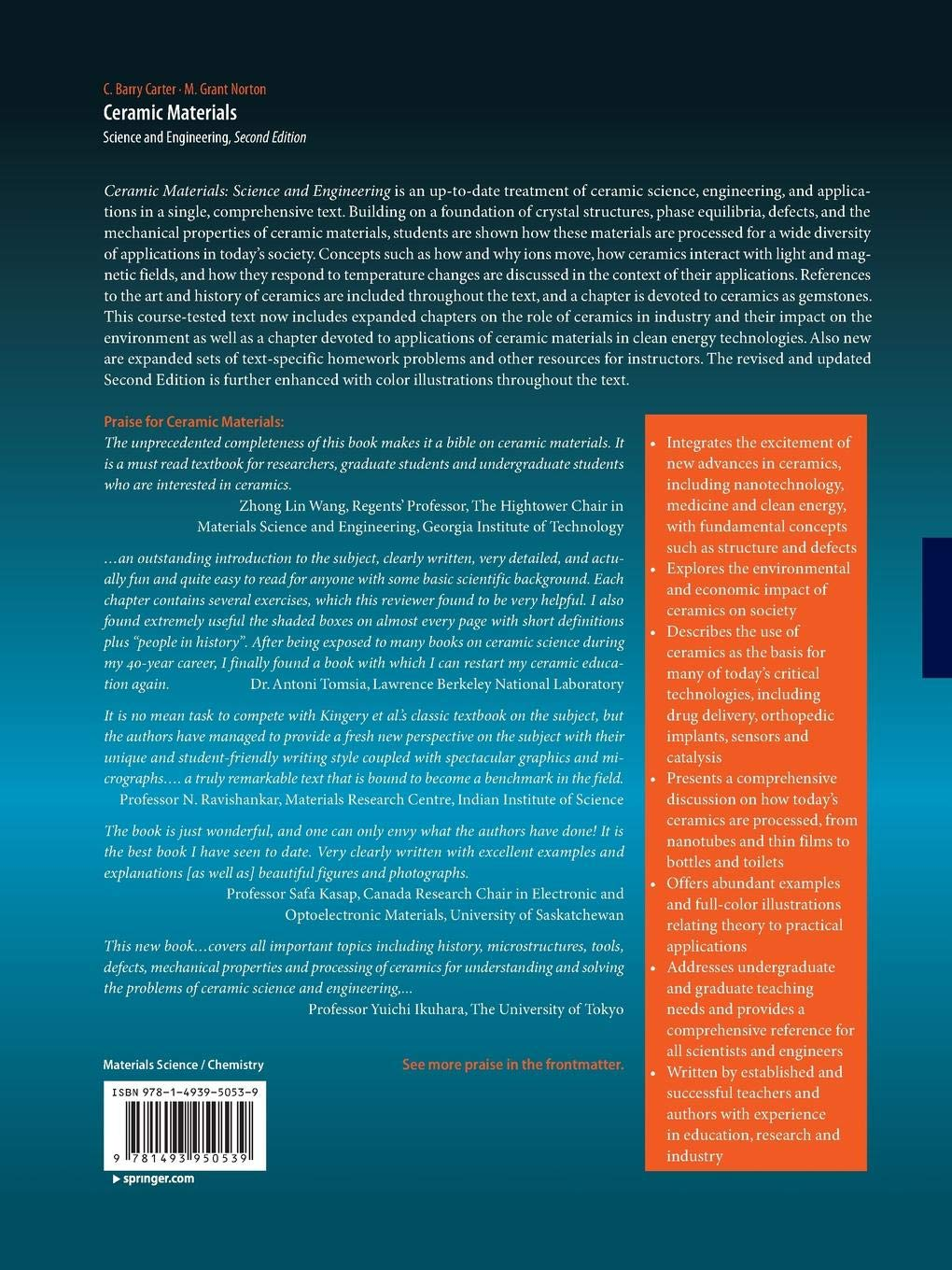 Ceramic Materials Science And Engineering Livros Na