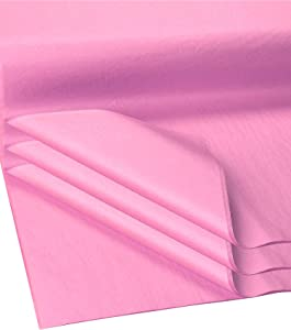 Flexicore Packging® | Gift Wrap Tissue Paper | Size: 15x20 | Acid Free (Baby Pink, 100 Sheets)