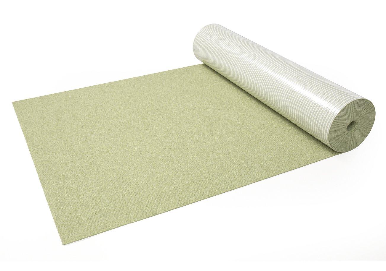 サンコー ズレない はっ水 カーペット ジョイント 廊下敷き ロング マット 床保護 グリーン 90cm×8m おくだけ吸着 日本製 KH-80 B00P7DOMCM GR(グリーン) GR(グリーン)