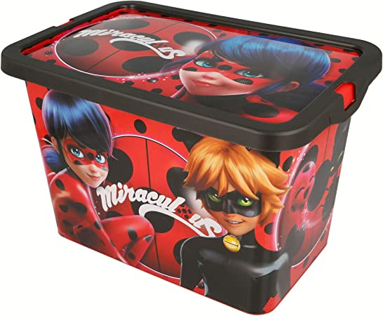 Stor CONTENEDOR 7 L | Miraculous Lady Bug: Amazon.es: Hogar