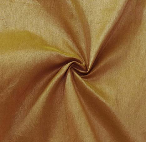 Solid Pattern Crafting Sewing Poly Dupion Silk Fabric 44 Inches Wide Material