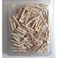 Mini-Holz-Wäscheklammern ca. 2,5 cm, ca. 100 St [Spielzeug]