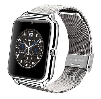 🍒Smart Watch Btruely Herren Reloj Inteligente Smart Watch Bluetooth 3.0 GPS WatchTracker Natación Reloj Deportes