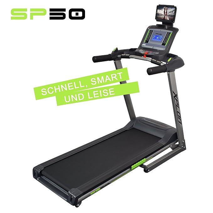 xplon SP50 - Cinta de correr eléctrica con inclinación automática ...