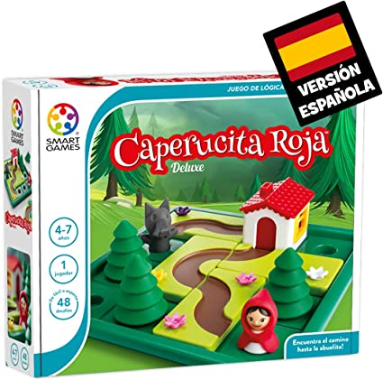 Comprar Games-SG021ES Smart Games Caperucita Roja Deluxe, Miscelanea (Lúdilo SG021ES)