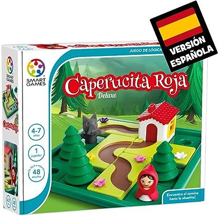 Comprar juego de mesa: Games-SG021ES Smart Games Caperucita Roja Deluxe, Miscelanea (Lúdilo SG021ES)